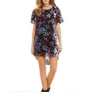 🎈3 for $10 'alana' floral burnout dress